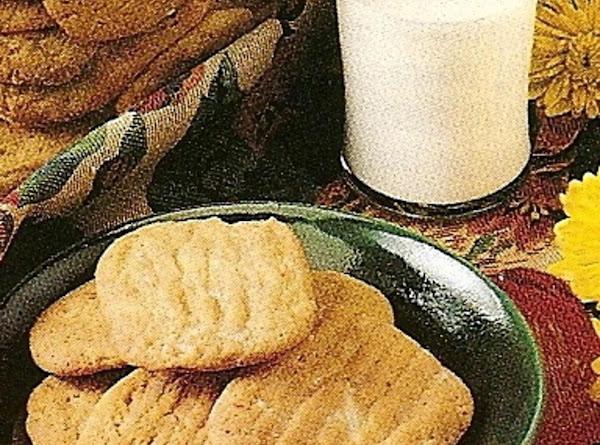 Peanut Butter Washboard Cookies Recipe