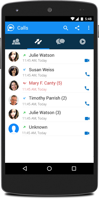 SliQ - Free voice & video call- screenshot