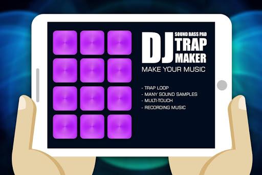 DJ陷阱制造者的声音 低音垫