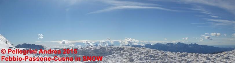Photo: IMG_9996 Panorama  dietro il confine nevoso
