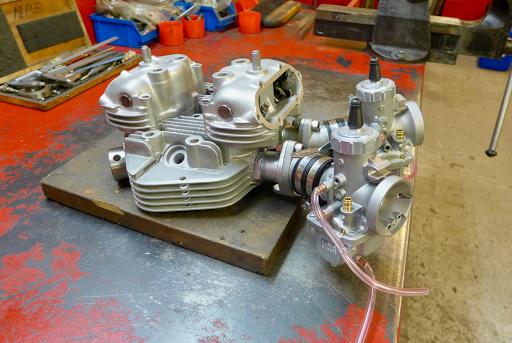 Culasse Triumph T140 réviséé par Machines et Moteurs