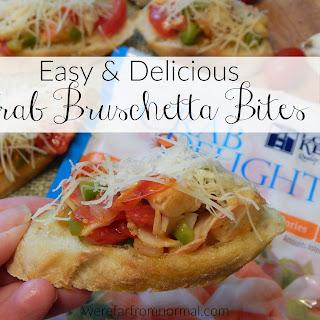 Crab Bruschetta Bites – Easy & Delicious!.