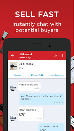 Screenshot for Carousell: Snap-Sell, Chat-Buy in Hong Kong Play Store
