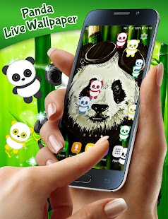 Panda Live Wallpaper - náhled