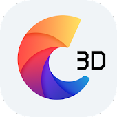C Launcher 3D - Theme, Wallpaper, Smart&Speed