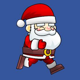 Santa Snow Run