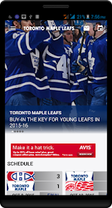Maple Leafs Mobile screenshot 1