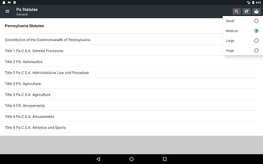 Pennsylvania Statutes 2018 (all free offline) 0.01 screenshots 7