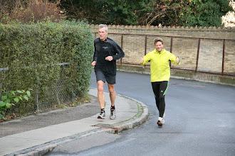 Photo: Jerk og Hasse på vej i mål