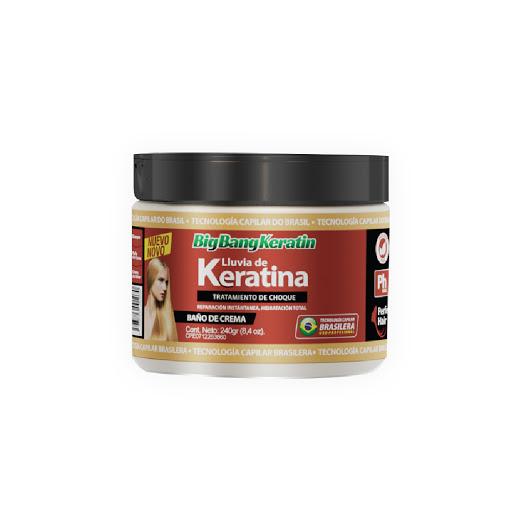 baño de crema bigbangkeratin keratina 240ml