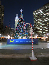 Photo: Christmas Village in LOVE Park
