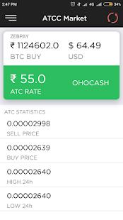 ATC Coin - CryptoInbox ATCC Market - náhled