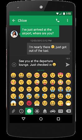 chomp SMS Twitter Style Emojis 1.2 screenshot 19080