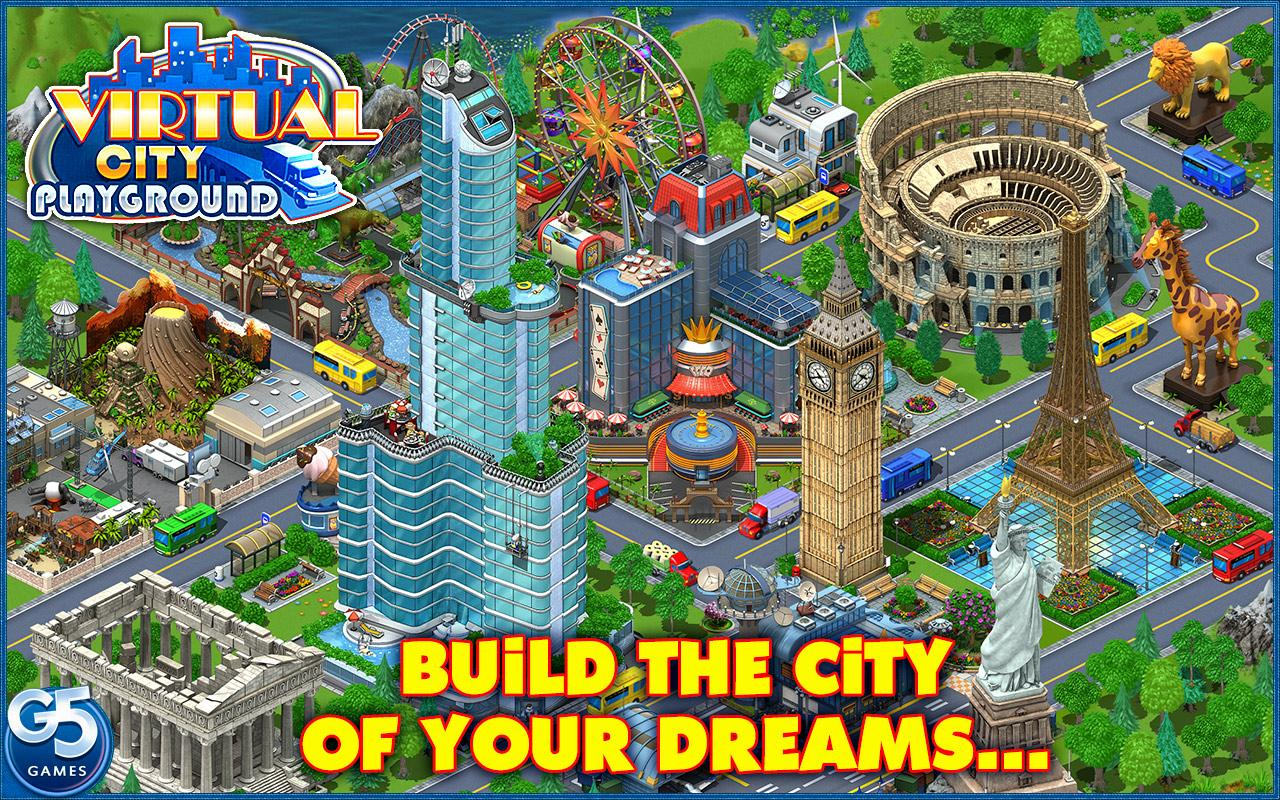 Virtual City Playground®- screenshot