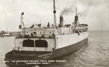 "Photo: ""Shepperton Ferry"""