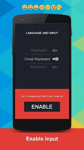 android Emoji Keyboard Screenshot 0