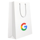 offers shopping bag with google logo