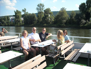 Photo: On the Danube boat trip