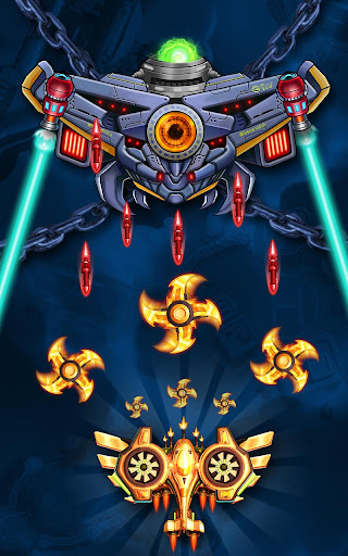 Space Squad: Galaxy Attack of Strike Force  captures d'u00e9cran 2
