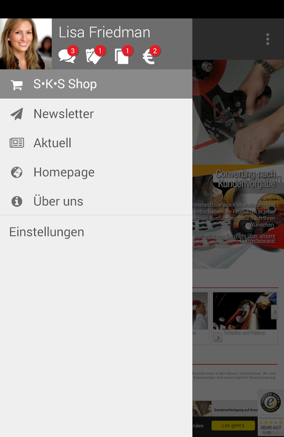SKS GmbH 3M Premiumpartner- screenshot