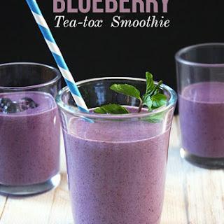 Blueberry Tea-tox Smoothie
