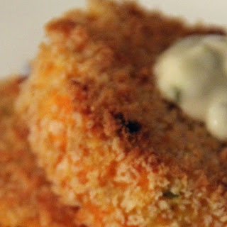 Crunchy Baked Fish Cakes.