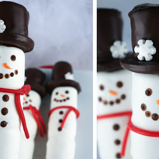 Marshmallow Snowman Dessert Recipes