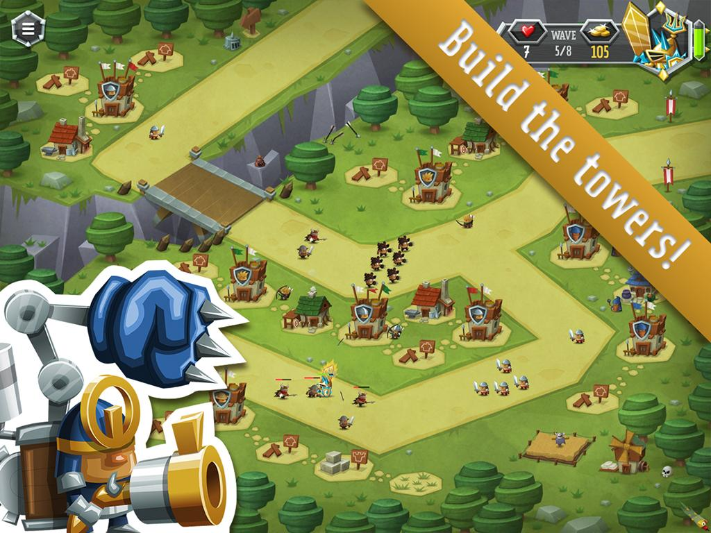 Tower Dwellers Gold- screenshot