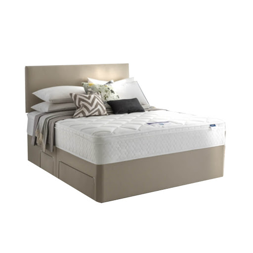 Silentnight Miracoil 750 Memory Coral Divan Bed