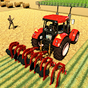 Real Tractor Farmer Simulator: Tractor Games icon