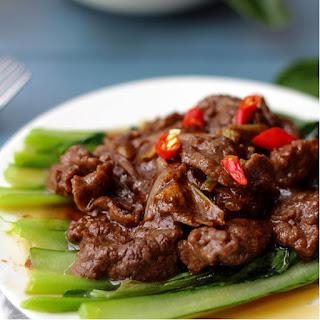 Beef with Sha Cha Sauce