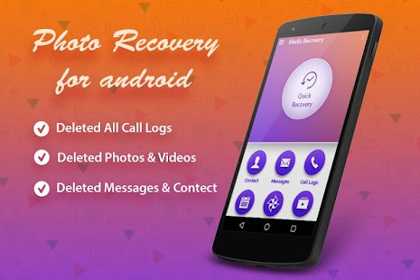 Photo Recovery for android - náhled