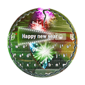 Happy new year GO Keyboard icon