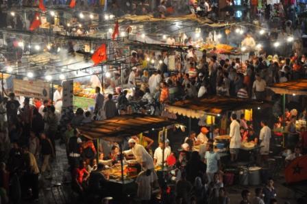 Piazza Jema El Fna  Marrakesh di angy17