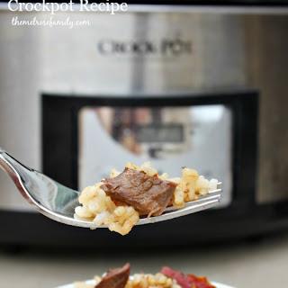Pepper Steak Crockpot