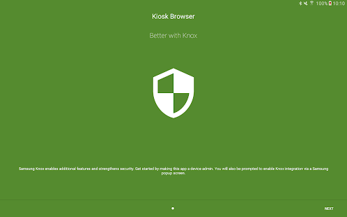 Security Module - Kiosk Browser- screenshot thumbnail