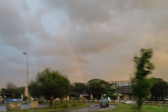 Photo: Rainbow - photo was taken from inside the car