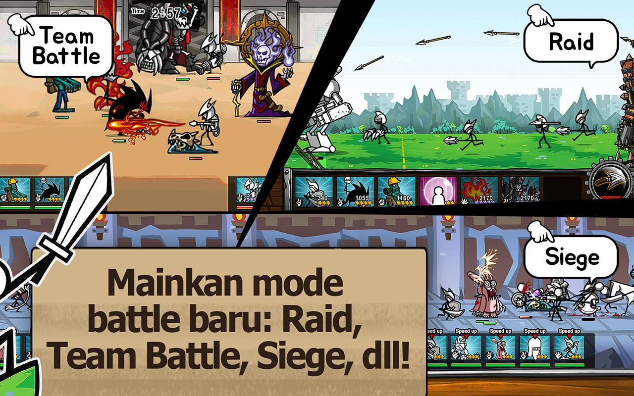 Game Cartoon Wars 3 Mod V.1.0.7 Apk Android (Unlimited