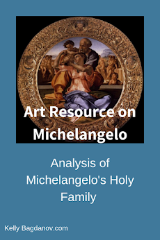 Analysis of Michelangelo's Holy Family #kellybagdanov # homeschool #homeschooling #classicalconversation #charlottemason #classicalconversationresource #classicalconversationcycle1 #charlottemasonpicturestudy #arteducation #arthistory #teachingarthistory #michelangelo #donotondo #holyfamily