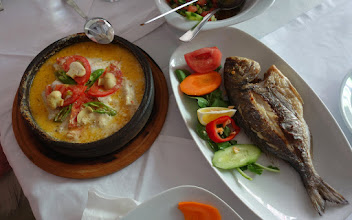 Photo: Our food at the Fener Restaurant