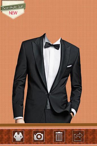 Man Black Suit