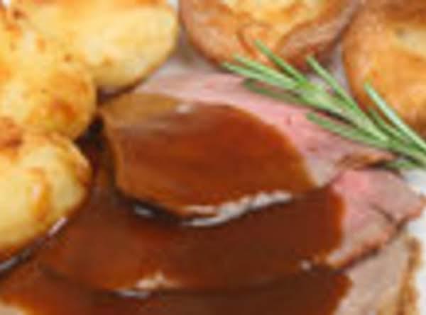 Standing Rib Roast, Potatoes & Yorkshire Pudding Recipe