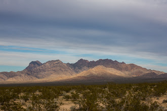 Photo: Late afternoon light in Mojave National Preserve, California.