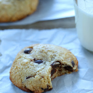 Extra Chewy Gluten Free Chocolate Chip Cookies