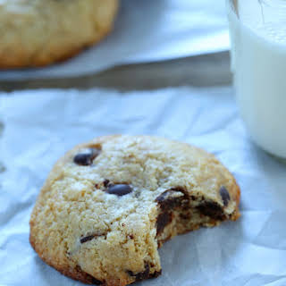 Extra Chewy Gluten Free Chocolate Chip Cookies.