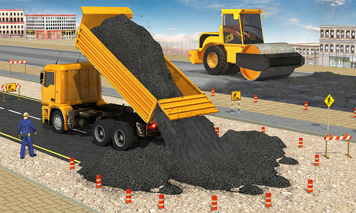 Excavator Simulator - Construction Road Builder 1.0.1 screenshots 2