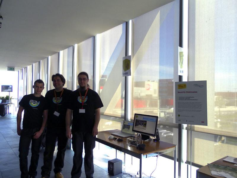 """Photo: Station """"Sound für Elektroautos"""" http://bit.ly/KuHNPK"""