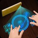 Hologram réel Simulator DJ icon