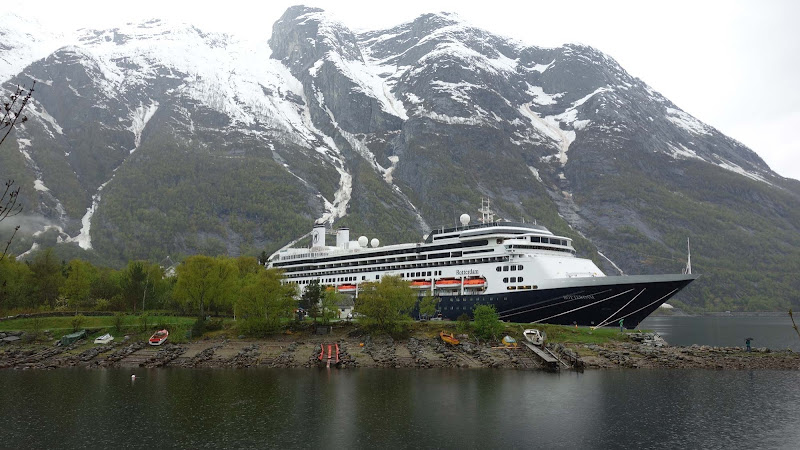 Holland America's ms Rotterdam in Norway.