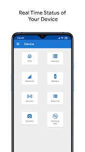 CPU X : Device & System info Screenshot
